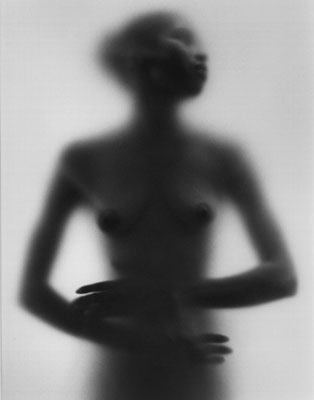 Ruth Bernhard Veiled Black 1974